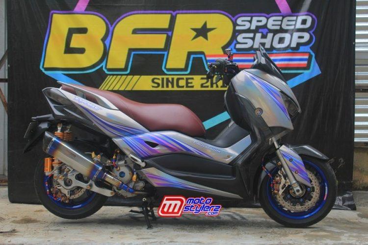 Modifikasi XMAX by BFR Speed Shop