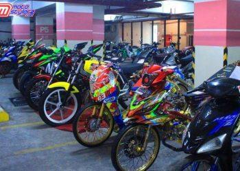 Motor Ex Palembang -Jadi Seri Kedua Agenda Kontes Milik Adi Pro