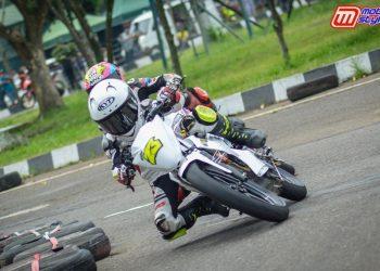 Pertarungan Perdana M. Athar Di Dunia Roadrace