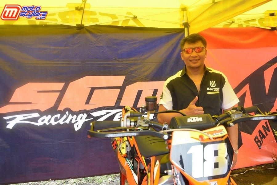 Roni Sanjaya (Owner SGM Racing Team)-Siap Kembali Gelar Event Seri