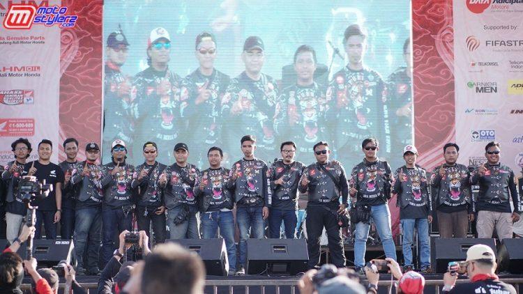 Bikers IMHJB Melakukan Touring ke Seluruh Indonesia Untuk Memberikan Undangan HBD ke-10 di Pangandaran