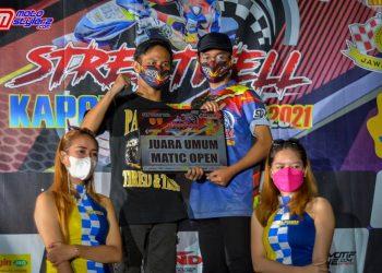 Jaga gengsi, M. Akbar sukses boyong titel juara umum matic open
