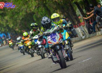 Mantab..561 Starter Serbu Event Street Well Kapota Matic Race 2021 Purwakarta