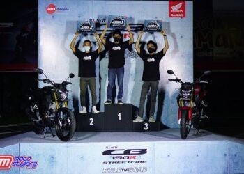 3 Jawara All New CB150R Streetfire Challenge