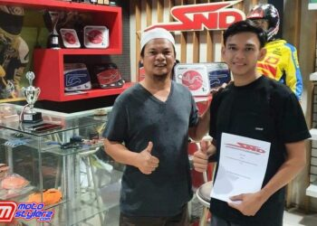 H. Sandy Agung & Alfi Husni-Jalin Kerjasama Untuk Motoprix 2021