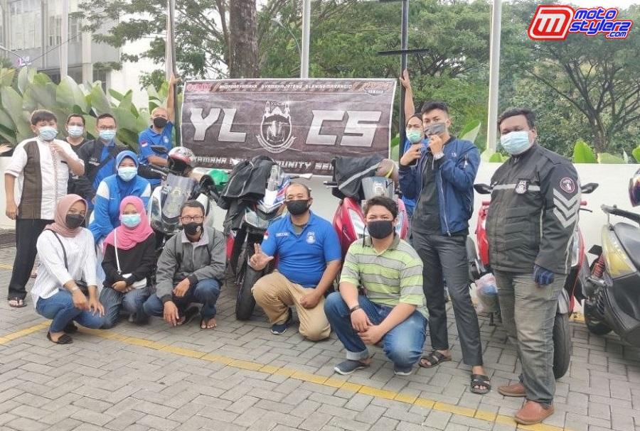 Yamaha Lexi Community Semarang (YLCS) Gelar Aksi Berbagi