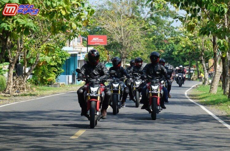 Bikers ASFI & HSFCI Uji Ketangguhan All New CB150R Streetfire Dengan Total Tempuh 500 KM