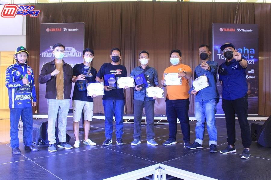 Juara Kategori Modifikasi Sport Yamaha