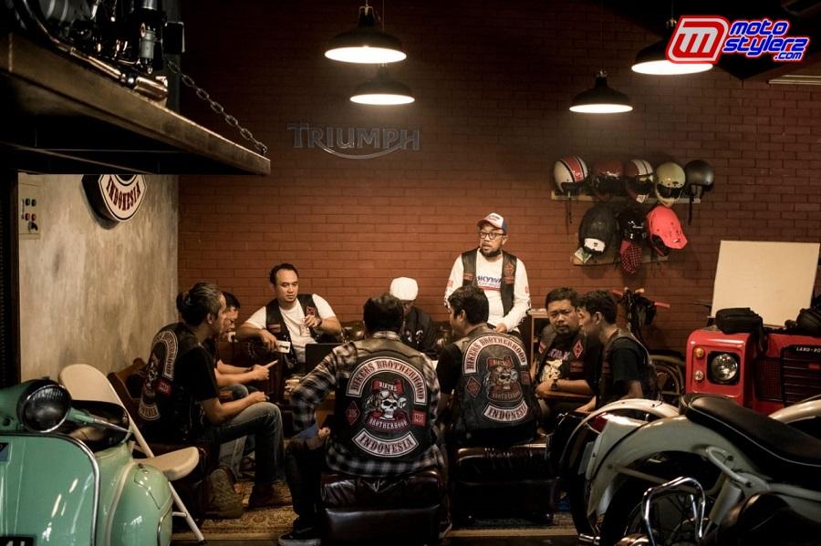 Suasana Cek Point BB1%MC TACIBAN-Salah Satu Tempat Pemungutan Suara