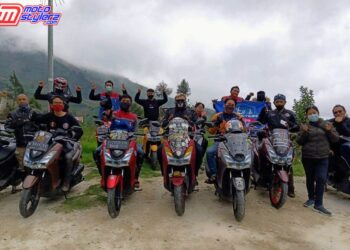 Touring Kuliner & Wisata Pegunungan Komunitas MAXI Yamaha Jawa Tengah