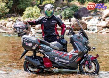Erwin Garcia-Bikers NMAX, Serukan Momen Maxi Yamaha Journey
