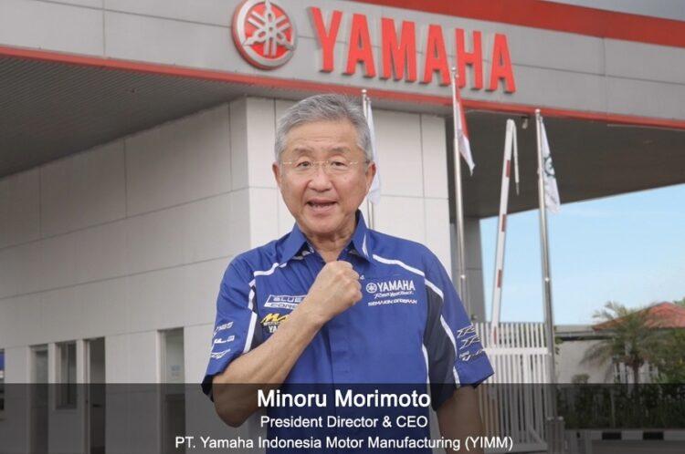 Minoru Morimoto, President Director & CEO PT Yamaha Indonesia Motor Manufacturing (YIMM)