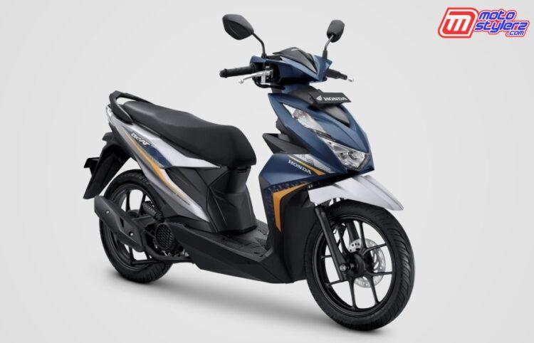 New Honda BeAT Tipe CBS-ISS. Electro Matte Blue