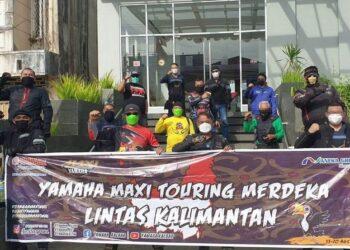 Touring Merdeka-Diikuti 10 Bikers Maxi Yamaha, Tempuh 4000Km