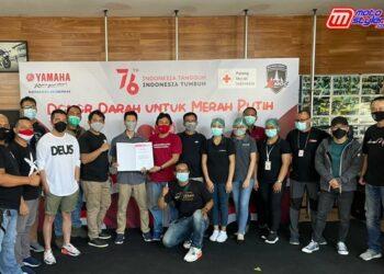 Didukung Yamaha DDS Bali, XMOC Bali Rayakan hari Jadi Ke 4 Dengan Bakti Sosial Donor Darah