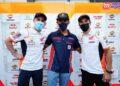 Mario Suryo Aji Semangat Berjumpa Bareng Pebalap Idolanya Marc Marquez dan Pol Espargaro