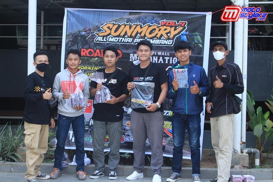 Merchandise Samurai Paint Untuk Pemenang Fun Games Di Acara Sunmori All Mothai Palembang