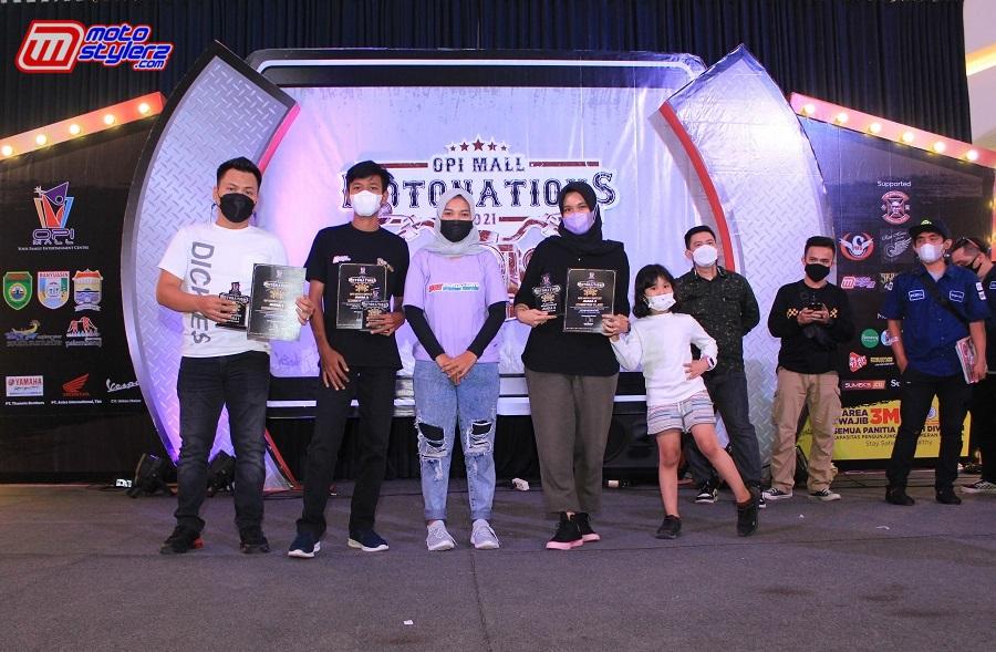 Tim Ifay Ministore Palembang Ditengah Pemenang Exhibition Class